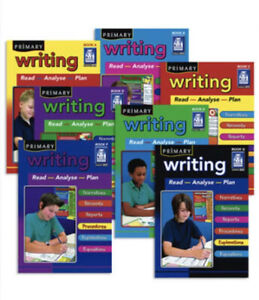 PRIMARY WRITING ~ Choose 1 Book Either :- A / B / E or G ~ RIC Publications ~ BN