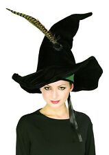 McGonagall Hat Harry Potter Witch Hat Feathers Adult Teen