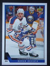NHL 509 Roman Oksiuta Edmonton Oilers Upper Deck 1993/94