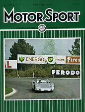 Motor Sport (May 1963) Le Mans, Humber Sceptre, Ford Anglia, Morgan 4/4, Sprite