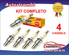 KIT 4 CANDELE ORIGINALI NGK FIAT 500 1.4 1400 74 KW 2007 IN POI COD. DCPR7E-N-10
