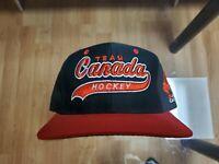 Vintage Team Canada Hockey Starter Script Snapback Hat Cap Sports Specialties