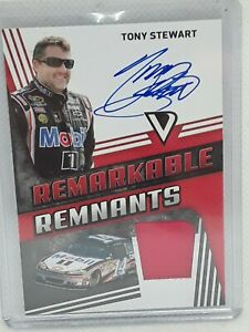 Tony Stewart 2018 Victory Lane NASCAR Racing FIRE SUIT RELIC AUTO (091/145)