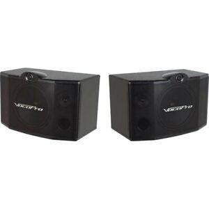 "VocoPro SV-500 10"" 3-Way Vocal PA Speaker (Pair)"