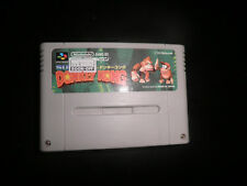 super nintendo SNES - donkey kong country - cart   - jap