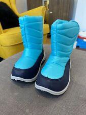 Teal Snowboots - UK 8/EU 25.5 - Never Been Worn!