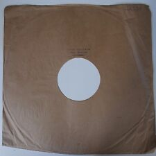 "12"" 78rpm paper gramophone record sleeve stamped ARTHUR SPENCER & CO chippenham"