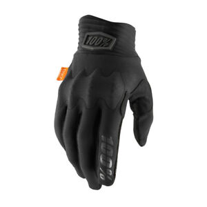 100% Cognito Bicycle Cycle Bike Gloves Black / Charcoal