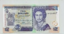 Belize 2007 $2 banknote P66c (unc)