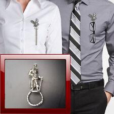 Civil War CP12 Pewter Pin Brooch Drop Hoop Holder Glasses,Pen,Jewellery