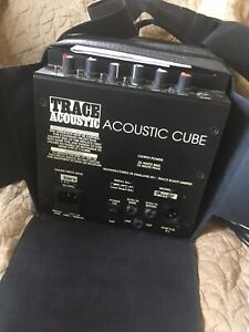 Trace Elliot Acoustic Cube Guitar Amp . 35W RMS / 70W Peak Excellent Condition