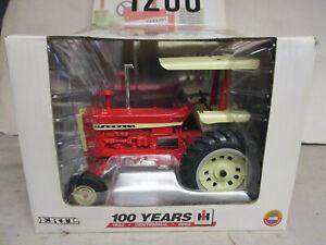 """(2002) Ertl IH Model 1206 Toy Tractor """"100 Year Centennial"""" 1/16 Scale, NIB"""