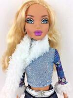 Mattel Barbie My Scene Kennedy Year of Style RARE Denim Skirt watch Scarf READ