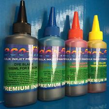 400ml ECOFILL Printer Ink Fits Epson Eco Tank ET1400 ET2500 ET2550 ET4500 ET4550