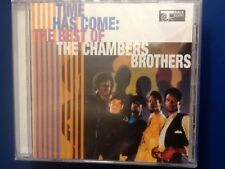 CHAMBERS.  BROTHERS.      TIME. HAS. COME.      BEST. OF. THE.CHAMBERS. BROTHERS