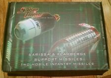 Starship troopers sarissa & flamberge support missiles