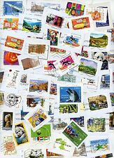 Lot 1 kg de timbres de France grands formats sur fragment - Kilo/Kiloware