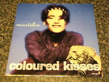 """MARTIKA - COLOURED KISSES  7"""" VINYL PS"""