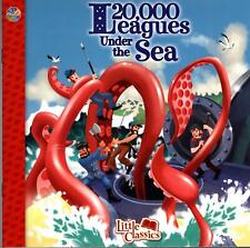 Little Classics: 20,000 Leagues Under the Sea Children's Paperback Book NEW!