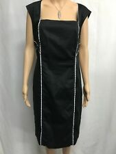TARGET, CITY DRESSING SIZE 18,BNWT  BLACK ,WHITE TRIM SHIFT DRESS,WORK,EVENT