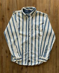 COLISEUM JEANS Size M (WMN) S (MEN) Vintage Long Sleeve Button Shirt FEB75
