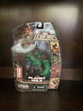 2006 Marvel Legends PLANET HULK Figure with Annihilus Head BAF Hasbro
