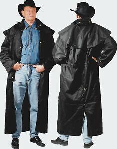Staubmantel Duster Mantel schwarz Western Style RB gr. 2XL Auslaufartikel