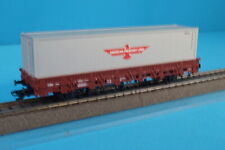 Marklin 00760-11 DB Flat Car with Container AMERICAN PRESIDENT LINES 297-2