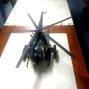 1/6 21st Century Toys Ultimate Soldier AH-6 Litttlebird Helicopter with Pilots