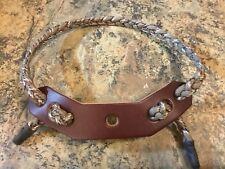 550 Paracord Wrist Sling Desert Camo Brown Leather , Prime, Mathews, Hoyt, Pse.