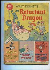 DELL FOUR COLOR #13 (3.0) RELUCTANT DRAGON. DONALD MICKEY KEY ISSUE!