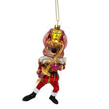 Glass Christmas Tree Bauble Mouse King Nutcracker Design Decoration
