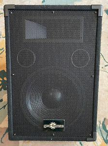 GEAR4MUSIC PM-12HA MONITOR SPEAKER + MIXER COMBO, USED