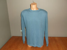 New Mens Size Large L Finl365 Blue Shirt Long Sleeves @@