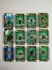 Mushiking:KING OF BEETLE CARD 12 CARDS USED CONDITION FOR PLAY ARCADE GAME #1661