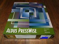Aldus PressWise 2.5 für MAC deutsche Version mit Dongle, Rarität