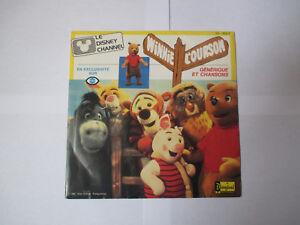 générique Winnie l'ourson (Disney Channel) - vinyle 45 tours