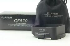 FedEx Rare [Mint] Fujifilm Fuji GF670 Genuine Lens Hood Black From Japan #26