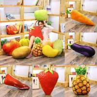 Plüsch Spielzeug Gefüllte Dekokissen Heim Sofa Kissen Gemüse 3D Obst / P3G3 H2D6