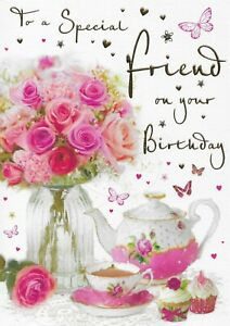 SPECIAL FRIEND BIRTHDAY CARD**REGAL PUBLISHING**9 X 6.5 INCHES**C1