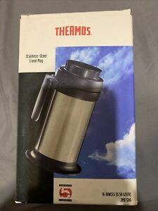 Thermos Stainless Steel Vacuum Insulated 16 Oz Travel Mug