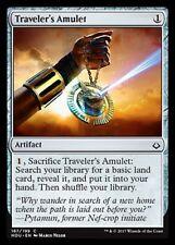 Traveler's Amulet NM X4 Hour of Devastation Artifact Common