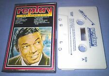 NAT KING COLE REPLAY cassette tape album T6298