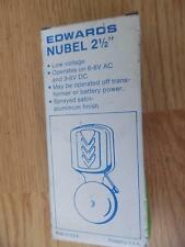 "Edwards Signaling 740 Vibrating Nubel General Purpose Bell 2-1/2"" New"