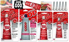 SHOE GOO Kleber Original Shoegoo - Alle Farben, Größen, Dosierer /CLEAR & BLACK