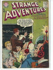 STRANGE   ADVENTURES  No 83  BY NATIONAL COMICS  PUBLICATIONS VG (3.0) 1957