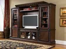 Ashley Furniture North Shore Stunning Entertainment Center W553