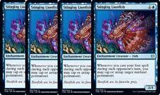 4x Stinging Lionfish -NM- Theros Beyond Death Blue Uncommon
