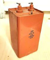 Capacitor K75-15 PIO 5kV 5000V 1uF Military Tesla Coil Soviet Ussr TESTED NEW