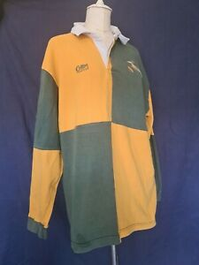 Vintage 90's South Africa (The Springboks) Rugby Union Shirt Cotton Traders MEL